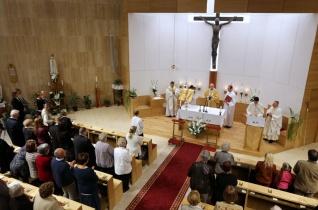 Megáldották a felújított Tours-i Szent Márton-templomot Vizafogón