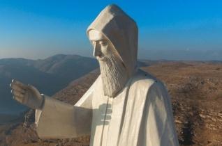 Óriási Szent Charbel-szobrot állítottak Libanonban
