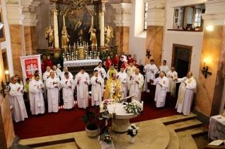 Egyházmegyei karitászünnepet tartottak Körmenden