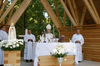 Centenáriumi zarándoklatot tartottak a Fatimai Szűz első magyar kegyhelyén