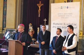 Athleta Patriae – Kiállításmegnyitót tartottak és Szent László-évi emlékérmeket adtak át Nagyváradon