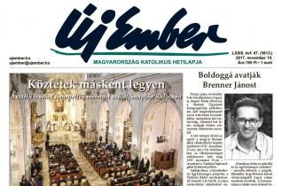 Megjelent az Új Ember november 19-i száma