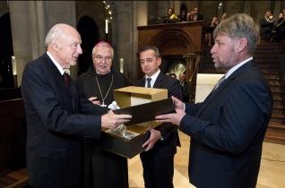 Szent Márton-díj átadás és váratlan főapáti bejelentés Pannonhalmán
