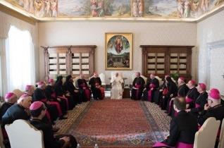 Ferenc pápánál kezdték a magyar püspökök az ad limina látogatást