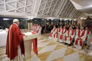 Ferenc pápa: Templomaink szolgálatra, nem pedig kereskedésre valók