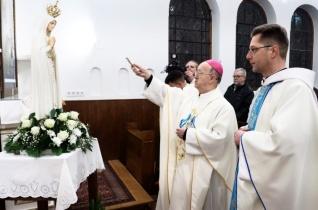 Újrakoronázták a Fatimai Szűzanya szobrát Balatonfűzfőn