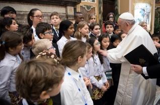 Ferenc pápa a Katolikus Akció fiataljaihoz: Legyetek Jézus barátai és tanúságtevői!