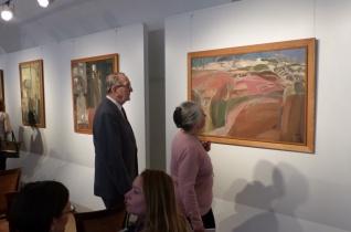 Emlékkiállítás nyílt Bazsonyi Arany festményeiből Szekszárdon
