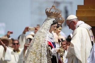 Ferenc pápa Iquiquében: Kezdjük el mi a csodát, Jézus majd befejezi!
