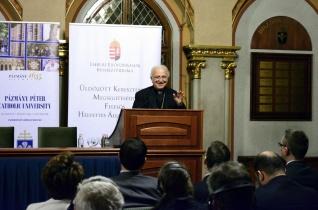 A szülőhelyen maradás Istentől való küldetés – Shomali jordán püspök előadása a Pázmányon