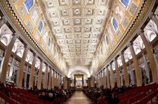 Új fényben tündököl a római Santa Maria Maggiore-bazilika