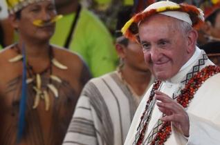 Ferenc pápa az őshonos perui lakossághoz: Életetek kiáltás minden ember lelkiismeretéhez!
