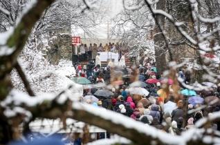 Szívvel-lélekkel, hűséggel – Szent Margit emlékére mutatott be szentmisét Erdő Péter Budapesten