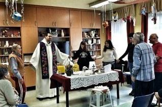 Lelki programot szerveztek a zsanai idősek otthonában a nagyböjt kezdetén