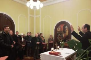 Megáldották a püspök nevében bekopogtató missziósokat Szombathelyen