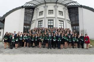 Diplomaátadó ünnepséget tartottak a PPKE Bölcsészet- és Társadalomtudományi Karán