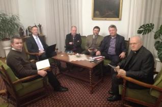 Erdő Péternél jártak a 72 Tanítvány Mozgalom vezetői