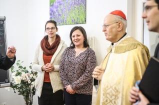 Erdő Péter megáldotta a főegyházmegyei hitoktatási felügyelőség új irodáját