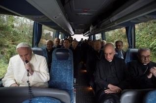 Véget ért Ferenc pápa és a Római Kúria lelkigyakorlata