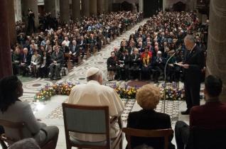 Ferenc pápa a Sant'Egidio alapításának ötvenedik évfordulóján: A keresztény ember mindenki testvére