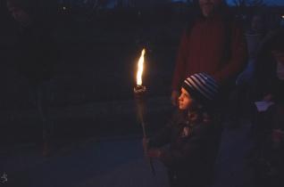 Ifjúsági fáklyás keresztút Rákosmentén