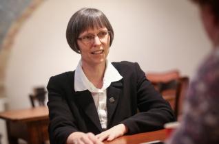 A magyarországi női szerzeteseket képviselő szervezet elnökévé választották Lobmayer M. Juditot