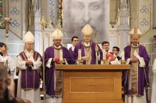 Főpásztori szentmise a magyar–lengyel barátság napja alkalmából Veszprémben