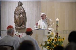 Ferenc pápa: Az Egyház olyan, mint a kerékpár