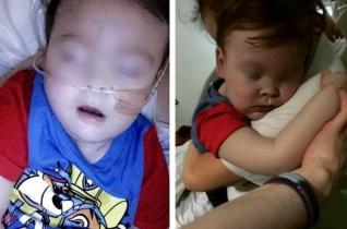 Önállóan lélegzik a kétéves kisfiú, Alfie, akit bírói döntésre lekapcsoltak a lélegeztetőgépről
