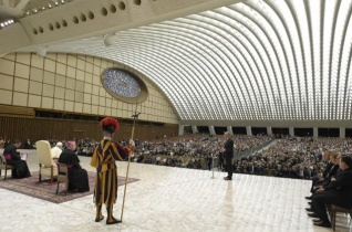 Ferenc pápa a római rendőrség munkatársaihoz és családtagjaikhoz: A legfőbb támasz a család