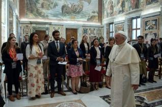 A szeretet a végső mozgatórugó – Ferenc pápa asztrofizikusokat fogadott a Vatikánban