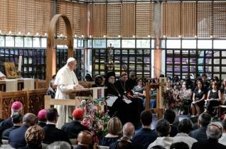 Ferenc pápa első beszéde Genfben: Az ökumenizmus veszteséges vállalkozás!