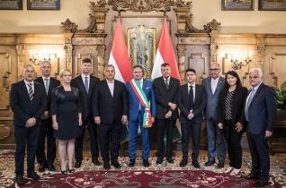 A miniszterelnök fogadta az olaszországi Tolentino küldöttségét