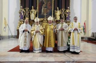 A 25 éves egyházmegye legszebb ajándékai – Pap- és diakónusszentelést ünnepeltek Debrecenben