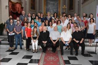 Romániai magyar anyanyelvű hitoktatók látogattak a Nagybecskereki Egyházmegyébe