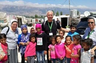 Befejeződött Peragine püspök libanoni látogatása