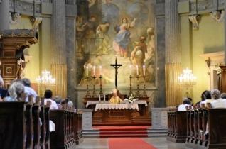 A Szűzanya személyén keresztül erősödjön a hitünk – Nagyboldogasszonyt ünnepelték Vácon