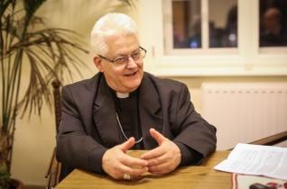 Spányi Antal megyéspüspök Alsószentiván díszpolgára lett