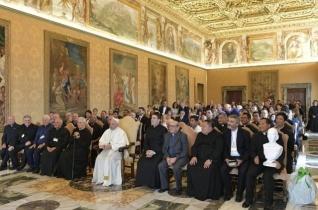 A pápa a Szeplőtelen Szűz Fiai szerzeteskongregációhoz: Legyetek a fiatalok útitársai!