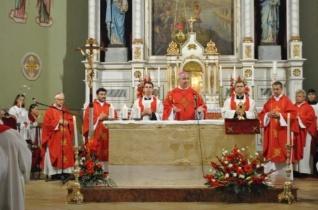 Szent Gellértre emlékeztek ősi püspöki székhelyén