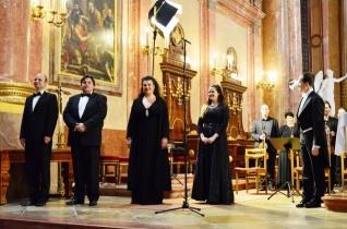 Mozart Requiemét adták elő a szombathelyi székesegyházban