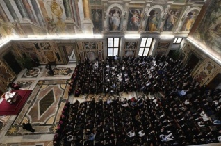 Ferenc pápa a lombard szeminaristákhoz: Pásztorok legyetek, ne klerikusok!