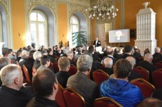 Papi rekollekciót tartottak Vácon a Nemzetközi Eucharisztikus Kongresszus jegyében