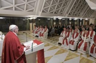 Ferenc pápa: Jézus tanítványa ne féljen a szegénységtől