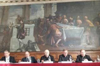 """""""A nagy háború vége és az Egyház Közép-Európában"""" címmel rendeztek konferenciát Velencében"""