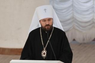 Hilarion orosz metropolita: töröltük Bartholomaiosz nevét a pátriárkák hivatalos listájáról