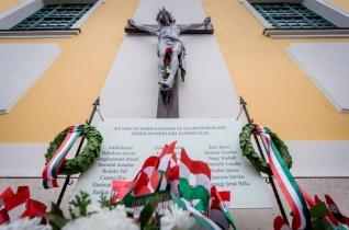 Az 1956-os forradalom áldozataira emlékeztek Székesfehérváron
