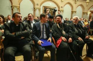 Az iraki szír keresztények a béke és a remény emberei – Előadás a Pázmányon