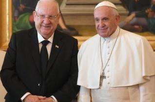 Jeruzsálem maradjon a béke városa – A Vatikánba látogatott az izraeli elnök