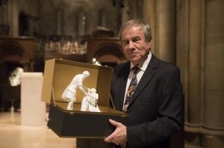 Idén Rolla János hegedűművész vehette át a Szent Márton-díjat Pannonhalmán